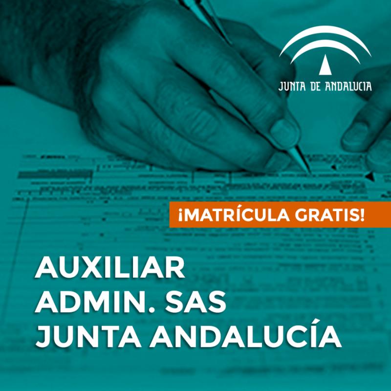 OPOSICIONES DE AUXILIAR ADMINISTRATIVO DEL SERVICIO ANDALUZ DE SALUD